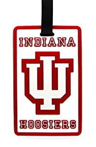 Buy Indiana Hoosiers - NCAA Soft Luggage Bag Tag by aminco