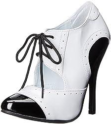 Ellie Shoes Women's 511-Gangster Slide Pump, Black, 10 M US