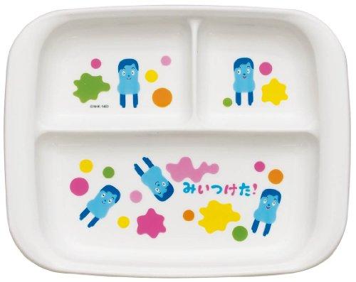SKATER みいつけた! 食洗機対応PP製ランチ皿
