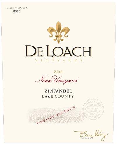 2010 Deloach Vineyards Nova Zinfandel 750 Ml