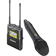 buy Sony Uwp-D12 Integrated Digital Wireless Handheld Microphone Eng System (Uhf Channels 30/36 And 38/41: 566 To 608 And 614 To 638 Mhz)