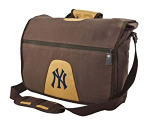 MLB New York Yankees on the Road Collection Messenger Bag by Pangea Brands