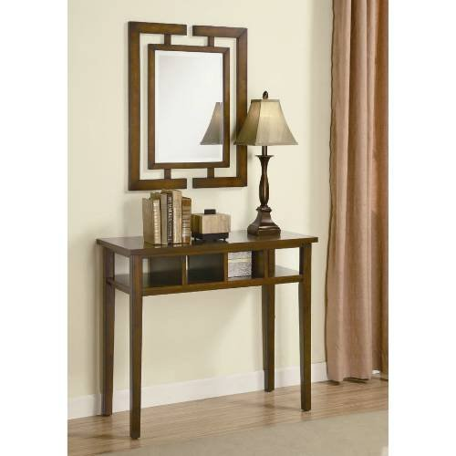 Cheap Coaster Furniture 900156 3 Pieces Transitional Console Table Set in Brown 900156 (B008A1IGG6)