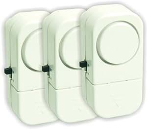 Elro CP383 Mini alarme pour placard Lot de 3