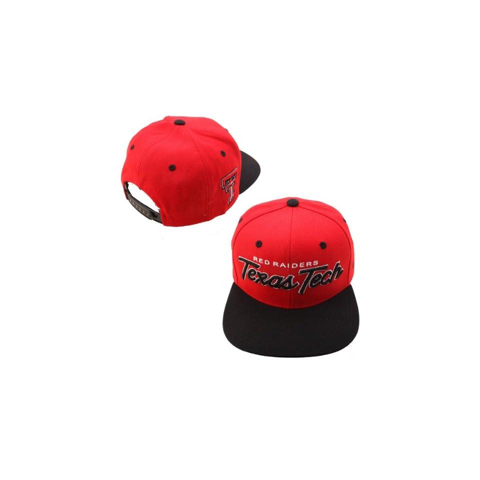 Zephyr Texas Tech Red Raiders Headliner Hat Adjustable on