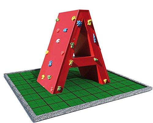 Kletterwand Buchstabe – für öffentliche Spielplätze & Einrichtungen bestellen