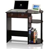 Furinno Go Green Compact Home Computer Desk (Black/Gray)