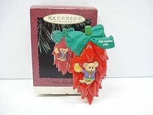 Hallmark Keepsake Ornament - Feliz, Navidad 1995 (QX5869)