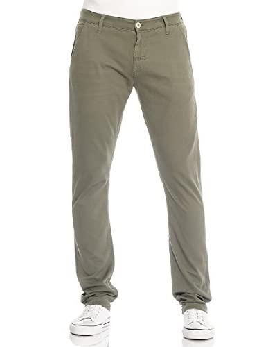 MELTIN'POT Pantalone Miren-Mp006 [Verde Scuro]