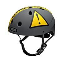 Nutcase Little Nutty Urban Caution (Matte) Bike Helmet, X-Small (46 cm-52 cm)