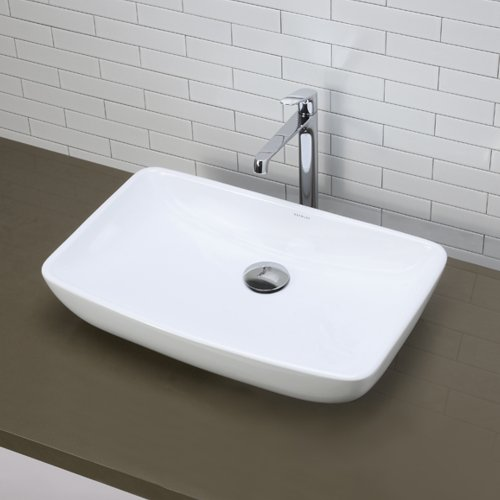 Decolav Sinks : ... Sink, White Hardware Plumbing Plumbing Fixtures Sinks Bathroom Sinks
