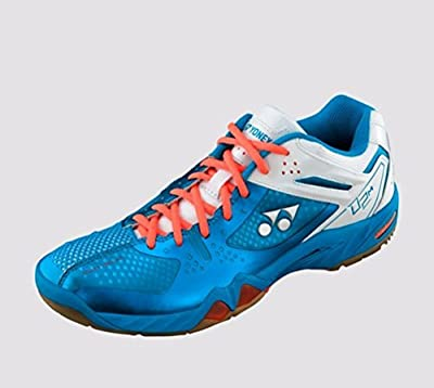 Yonex Men's Pro Cushion SHB-02 MX Badminton Shoe-Blue by Yonex