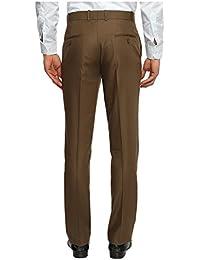 White House Jeans Men's Regular Fit Flat Front Trousers - B01DP1DVJM