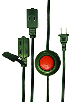 Axis 45512 9-Foot 3-Outlet Foot Switch Extension Cord