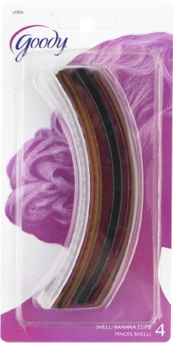 Goody-Classics-Clincher-Comb,-5-Inches,-4-Count-(Pack-of-6)