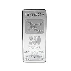 Joyalukkas BIS Hallmarked 250 grams 999 Silver Bar