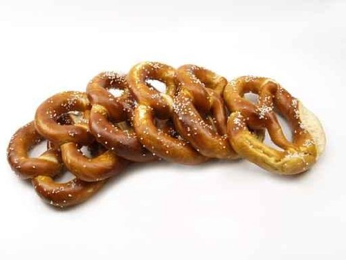 Food Wall Decals Pretzel - 48 Inches X 36 Inches - Peel And Stick Removable Graphic