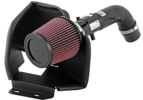K&N 69-8609TTK Textured Black Performance Intake Kit (2006 Camry Air Intake compare prices)