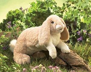 Floppy Bunny Rabbit Puppet by Folkmanis