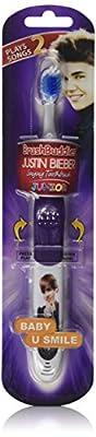 Brush Buddies 8-52060-00323-7 Justin Bieber Junior Baby and U Smile Singing Toothbrush
