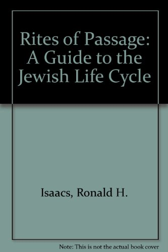 the rite of passage in judaism Rites and ceremonies  the christian rite of initiation, is a ritual cleansing with water  the early christians integrated the ancient jewish practice of ritual bathing into christian .