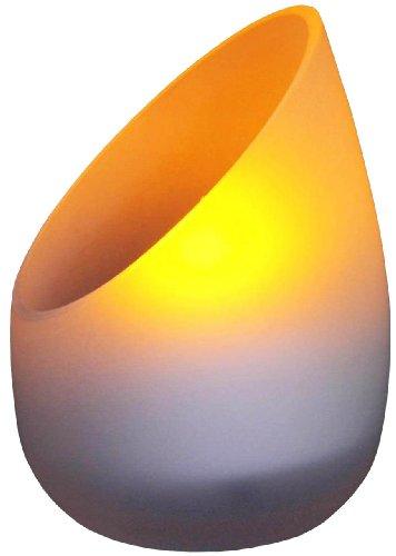 ムサシ RITEX LEDキャンドルライト 「ゆらめく暖色光」 乾電池式 AL-205