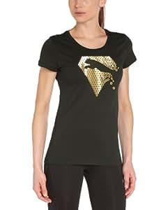 Puma ST Diamond Cat T-Shirt femme Noir FR :36   XS (Taille Fabricant : XS)
