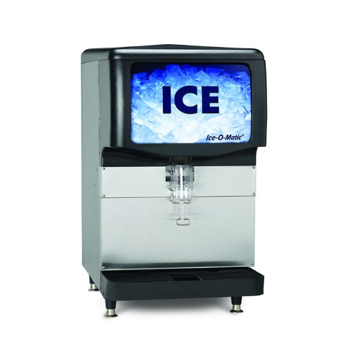 Ice-O-Matic Iod150 - Ice Dispenser, 150 Lb Capacity, Counter Model, Lever Dispensing
