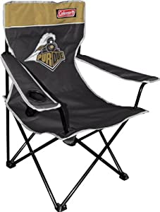 Buy NCAA Purdue Boilermakers Coleman Folding Chair With Carrying Case by Coleman