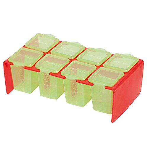 Clevamama Clevaportions Freezer and Storage Pots - 1