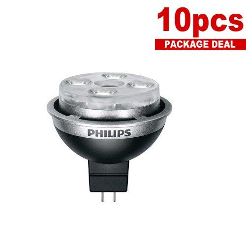 Philips Enduraled 10W Mr16 2700K Dimmable Nfl 24 Light Bulb X 10 Pcs