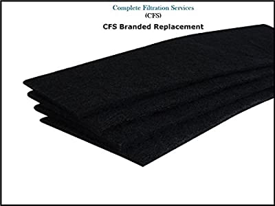 FLT22CB4 Carbon Filter Replacements for 22-inch Air Purifiers, 4-Pack by CFS