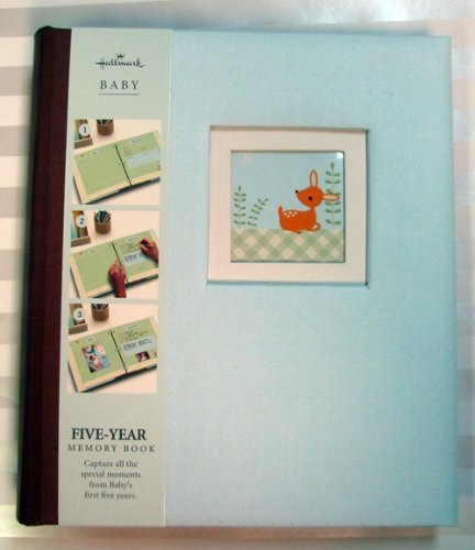 Hallmark Baby Bba7007 Fox Boy 5 Year Memory Album