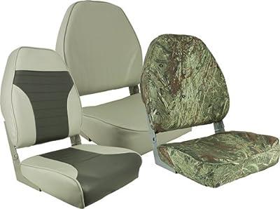 Springfield 1040648 Tan Economy Folding High Back Chair