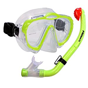 Buy Promate Junior Snorkeling Scuba Diving Mask DRY Snorkel Set for Kids  SCS0032 by Promate