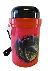 Marvel Spiderman Travel Bottle - Canteen with twisted cap