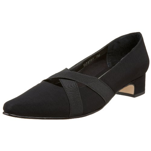 Ros Hommerson Women's Fab Dress Shoe,Black Microt,13 W US