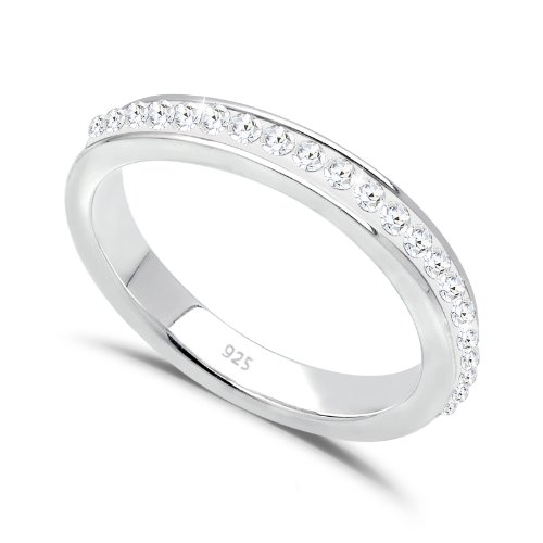 Elli Damen-Ring Klassik 925 Sterlingsilber 0604432811