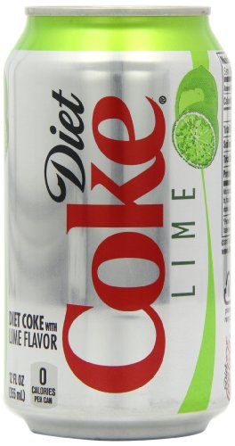 Diet Coke Lime Cans 12 fl oz/355 ml (Pack of 12)