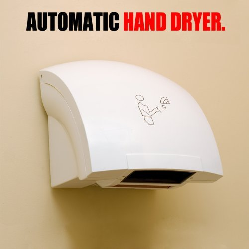 Automatic Hand Dryer Hands Free Electric Infrared Commercial Bathroom 120/220v (Automatic Hand Dryer compare prices)