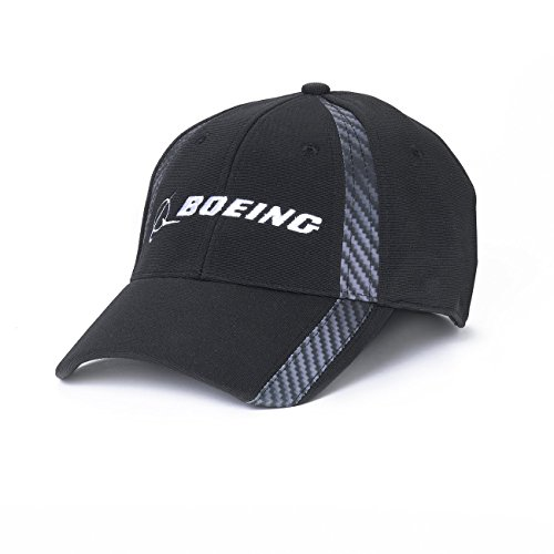 Carbon Fiber Print Signature Hat; COLOR: BLACK; SIZE: ONSZ (Boeing Cap compare prices)