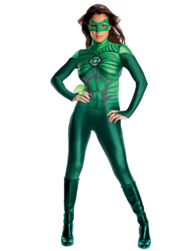 Green Lantern Womens Adult Costume Med 8-10 Adult Womens Costume