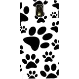 Snoogg Dog Stamps Case Cover For Samsung Galaxy Note 3 Note III