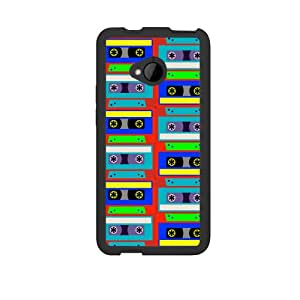 Neon Cassette Case for HTC One