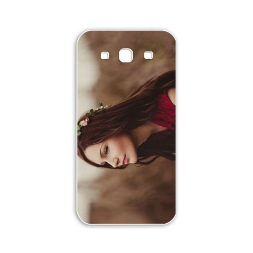 Make Samsung Galaxy S3/SIII Babes Series Autumn Auburn Fairy wallpapers Autumn Auburn Fairy stock photos White Case of Unique Case Cover For Guays at Amazon.com