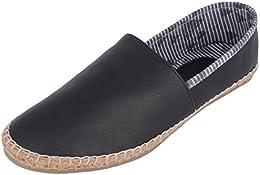 Jodiac Style Hub Mens Leather Espadrille Flats