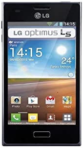 LG Optimus L3 Smartphone Android 2,3 GSM/EDGE/UMTS Bluetooth Wifi GPS Mémoire interne 1 Go Noir