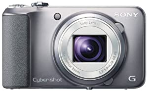 Sony Cyber-shot DSC-H90 16.1 MP Digital Camera with 16x Optical Zoom and 3.0-inch LCD  (Silver) (2012 Model)