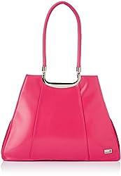 Butterflies Women's Handbag (Pink) (BNS 0530 PK)