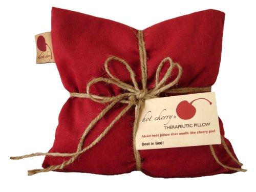 Square Hot Cherry® Therapeutic Pillow In Denim